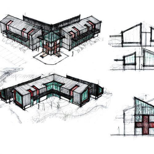 01_disegno_progetto_croce_rossa_italiana_giuseppe_passaro_architetto_reggio_emilia