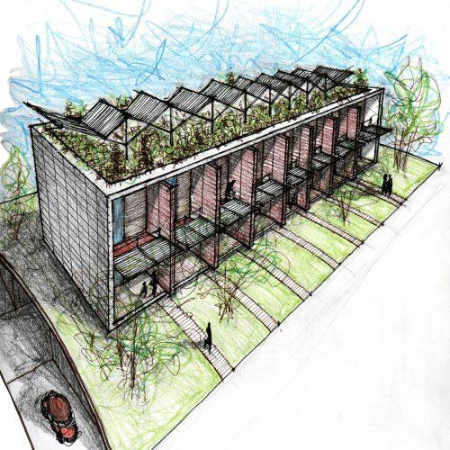 02_disegni_giuseppe_passaro_architetto_reggio_emilia_residenziale
