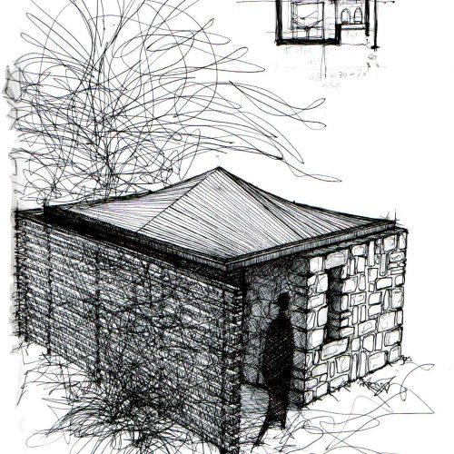 04_disegni_giuseppe_passaro_architetto_reggio_emilia_residenziale_club_med_bungolow