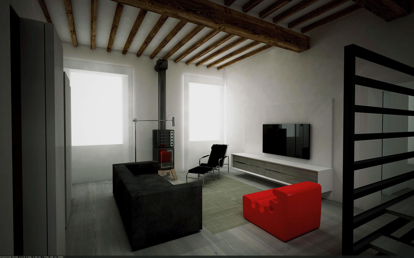07 piazza spallanzani progetto architetto giuseppe passaro for Architetto interni
