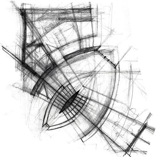 1_disegno_preparatorio_studio_giuseppe_passaro_architettura_progetto_alfa