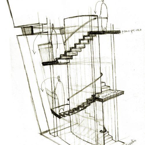 2_disegno_preparatorio_studio_giuseppe_passaro_architettura_progetto_alfa