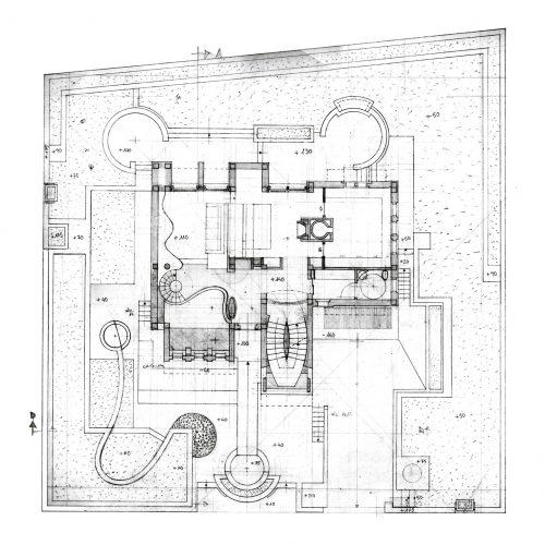 3_disegno_preparatorio_studio_giuseppe_passaro_architettura_progetto_alfa