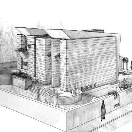 7_disegno_preparatorio_studio_giuseppe_passaro_architettura_progetto_alfa
