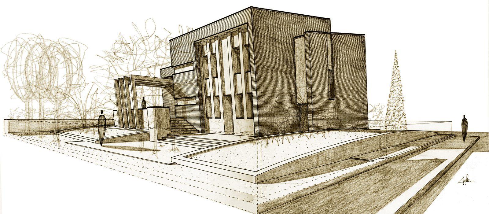 7_disegno_preparatorio_studio_giuseppe_passaro_architettura_progetto_beta